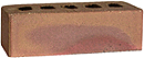 Golden Sand Color Smooth Face Clay Brick with Sunset Clinker Shade