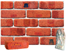 Super Red Color Cobble Brick