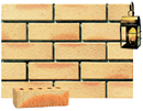 Golden Cream Color Sandblast Brick with Sunset Clinker Shade