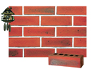 Super Red Color Smooth Face Brick with Clinker Shade
