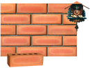 Golden Peach Color Smooth Face Brick with Shade