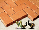 Golden Peach Color Cobble Paver