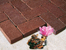 Golden Brown Color Cobble Paver