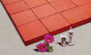 Super Red Color Wirecut Paver