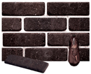 Dark Brown Color Cobble Brick Veneer