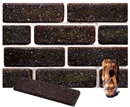 Dark Brown Color Cobble Sliced Brick Veneer