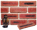 Lavender Color Cobble Sliced Brick Veneer with Shade