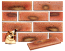 Golden Peach Color Smoothface Sliced Brick Veneer with Shade