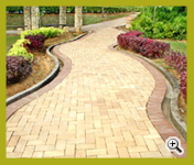 Golden Cream Color Wirecut (3WC259-15) Landscaping Project at Kuala Lumpur